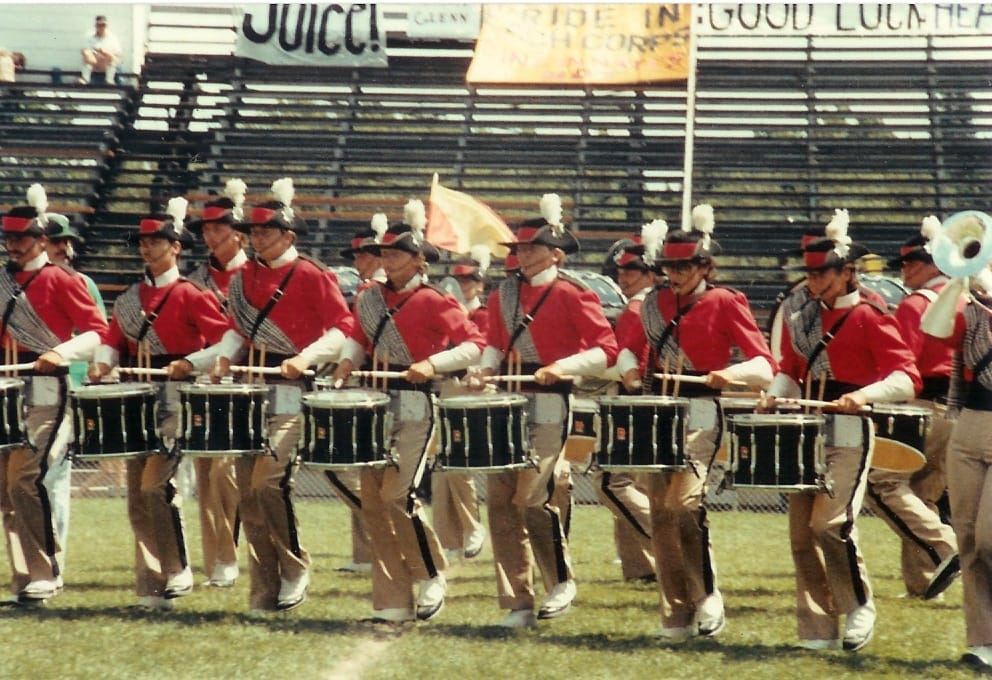 Photo - The Hard-Hitting 27th Lancers Snareline, 1985
