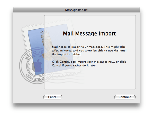 Fix Apple OS X Mail Crashing and Hanging : Rick Cogley Central