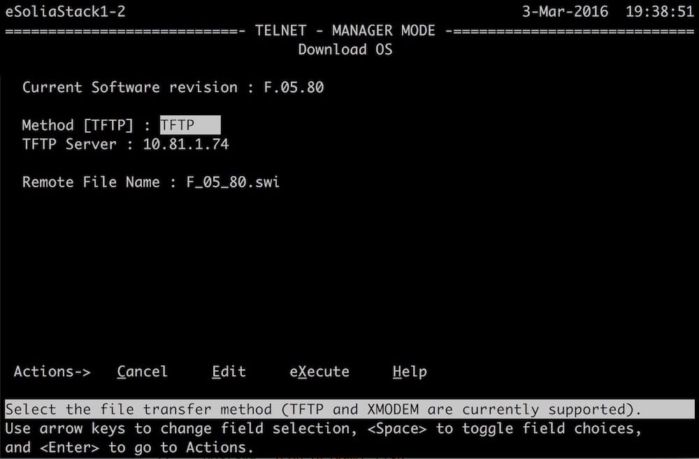 Run a TFTP Server for Network Device Setups : Rick Cogley