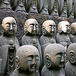 Jizo statues at Hase temple